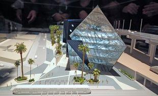 La maquette a été dévoilée au Mipim, le marché de l'immobilier à Cannes