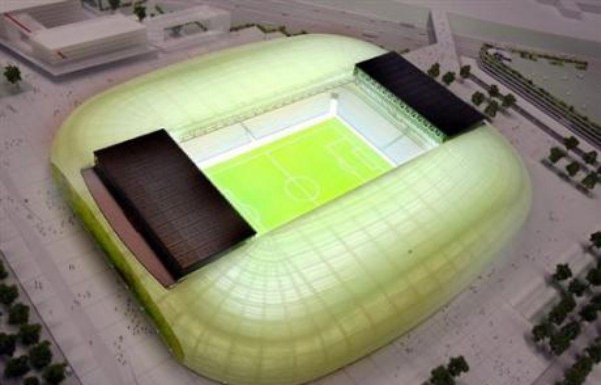 """Le groupe français Eiffage a été désigné vendredi par la communauté urbaine de Lille (LMCU) comme """"attributaire pressenti"""" pour la construction et l'exploitation du grand stade de l'agglomération lilloise. – Philippe Huguen AFP"""