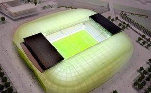 """Le groupe français Eiffage a été désigné vendredi par la communauté urbaine de Lille (LMCU) comme """"attributaire pressenti"""" pour la construction et l'exploitation du grand stade de l'agglomération lilloise."""