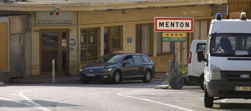 Les locaux de la police aux frontières à Menton