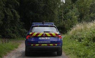 Une voiture de gendarmerie. (illustration).