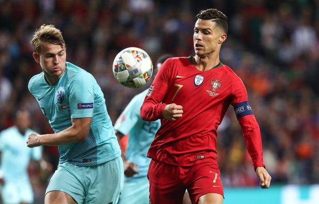 Ligue des nations: «J'étais un peu choqué, alors j'ai ri»... Ronaldo a tenté de convaincre De Ligt de rejoindre la Juve