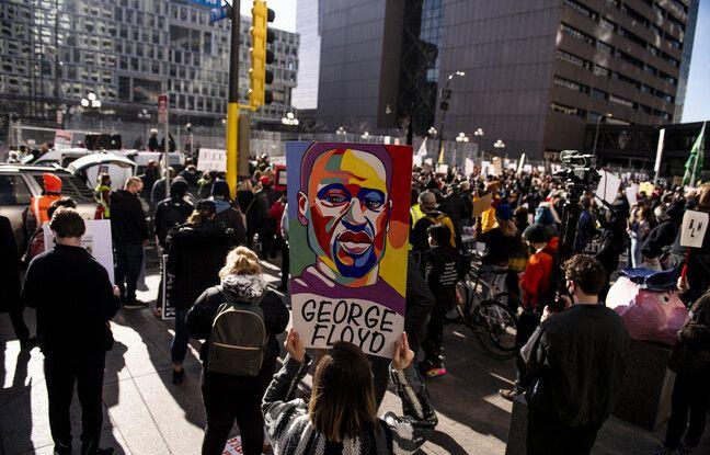 648x415 manifestants demandent justice george floyd devant tribunal minneapolis o juge ex policier derek chauvin 8 mars 2021