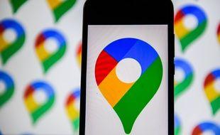 L'application Google Maps.