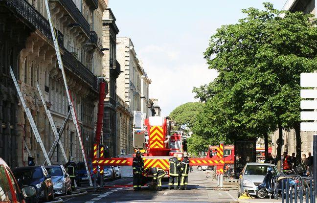 L'intervention des pompiers rue Ferrère a duré jusqu'au lundi 27 mai.