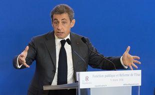 Nicolas Sarkozy s'est montré offensif sur la question des fonctionnaires.