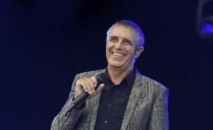 Julien Clerc en concert à la Fête de l'Huma, le 16 septembre 2018.