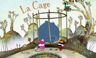 La cage est un film d'animation écrit et réalisé par Loïc Bruyère, un auteur réalisateur Lyonnais de 37 ans.