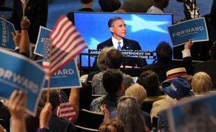 """Le président Barack Obama a reconnu jeudi que le slogan d'espoir sur lequel il avait été élu il y a quatre ans avait été """"mis à l'épreuve"""" mais promis aux Américains que le changement restait possible, en sollicitant leurs suffrages pour un second mandat."""