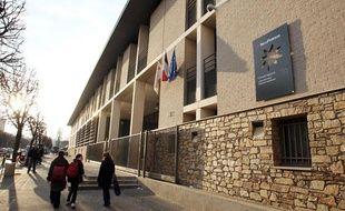 Le lycée Guillaume-Appolinaire de Thiais.