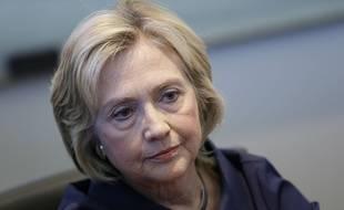 Hillary Clinton en campagne à Cedar Rapids dans l'Iowa (Etats-Unis), le 7 septembre 2015.