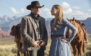 James Marsden et Evan Rachel Wood dans «Westworld».
