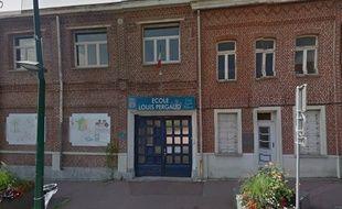 L'école Pergaud, à Roncq.