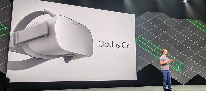 Mark Zuckerberg, le 11 octobre 2017 à la conférence Oculus Connect, à San Jose, en Californie.