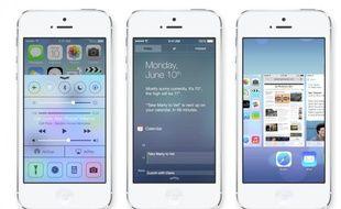 Apple a dévoilé iOS 7 le 10 juin 2013.