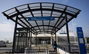 La gare de Chanteloup-les-Vignes, dans les Yvelines. (archives)
