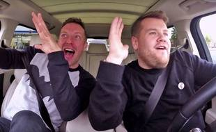 Exemple de bon comportement à adopter lors d'un trajet BlablaCar (Carpool Karaoke de James Corden)