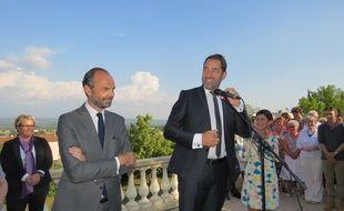 Christophe Castaner a reçu le soutien d'Edouard Philippe pour sa candidature