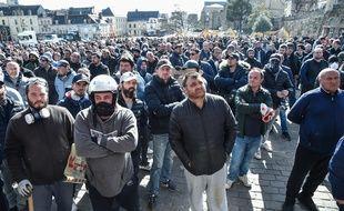 Les forains mènent un mouvement de protestation au Mans