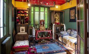 Si Alexandra David-Néel ne souhaitait pas reproduire ce qu'elle a vu au Tibet, elle en a toutefois ramené de nombreux souvenirs.