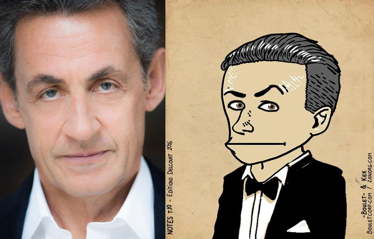 Nicolas Sarkozy façon «Bouletmaton» – Photomontage 20MINUTES