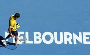 Novak Djokovic, le 18 janvier 2016 à Melbourne.