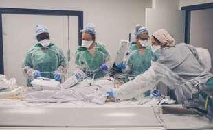 Coronavirus: Toujours moins de malades à l'hôpital et en réanimation (Illustration)