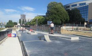 Le futur skate parc se situe quai Doumergue, en face du Novotel
