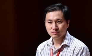 Le chercheur chinois He Jiankui, le 29 novembre 2018 à Hong Kong.