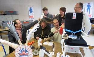 L'équipe de My Human Kit a ouvert son atelier, le Humanlab, il y a quelques jours à Rennes.