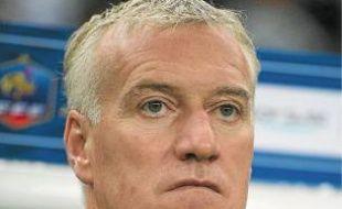 Le sélectionneur Didier Deschamps.