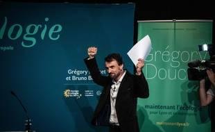 Grégory Doucet vient de remporter les élections municipales à Lyon dimanche. JEFF PACHOUD