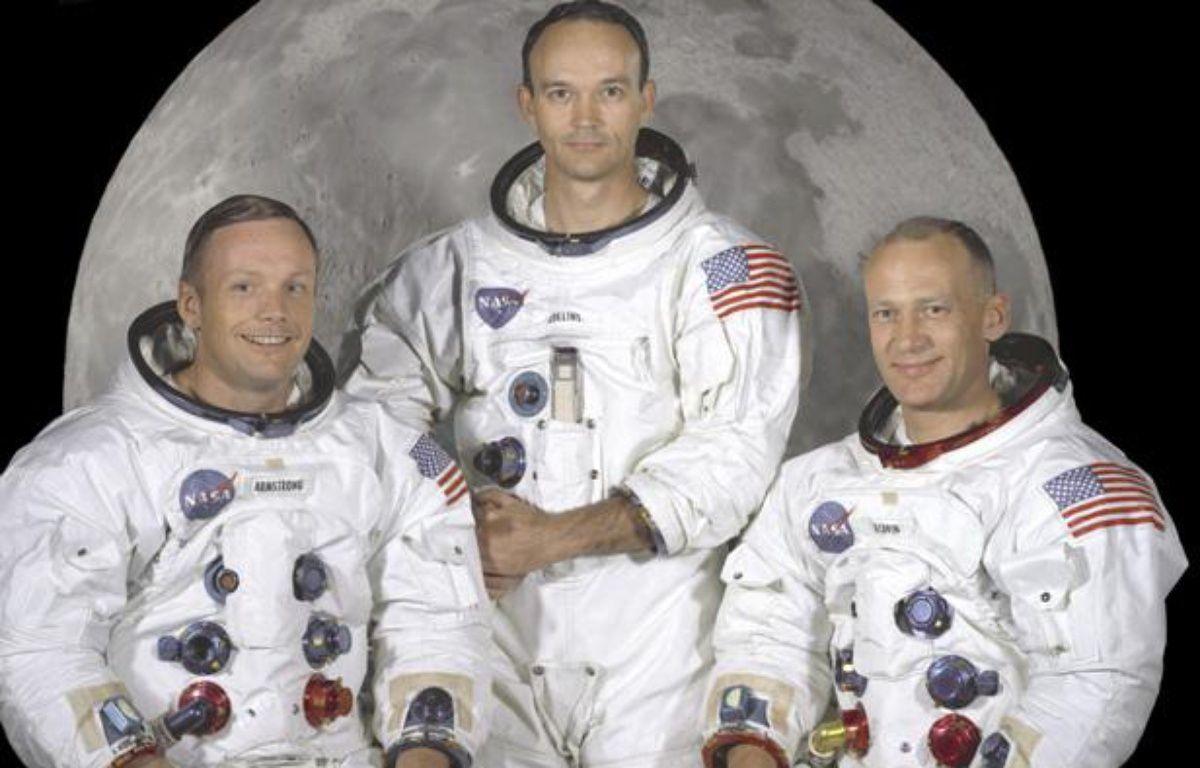 L'équipage d'Apollo 11 en mai 1969: Neil Armstrong (à gauche), Michael Collins (au centre) et Edwin «Buzz» Aldrin (à droite). – HANDOUT / REUTERS