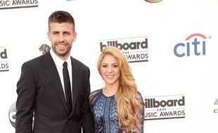 Le footballeur Gerard Piqué et la chanteuse Shakira aux Billboard Awards