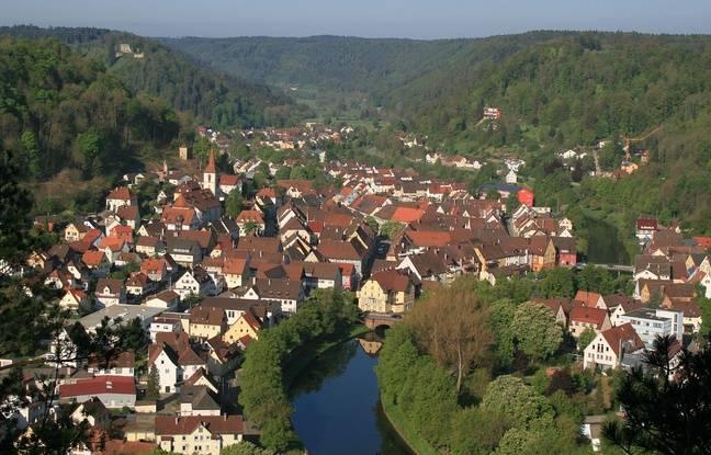 La riante bourgade de Sulz am Neckar, dans le sud-ouest de l'Allemagne