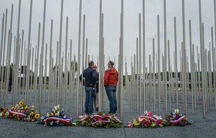 Commémoration des 20 ans de la catastrophe AZF, à Toulouse, le 21 septembre 2021.