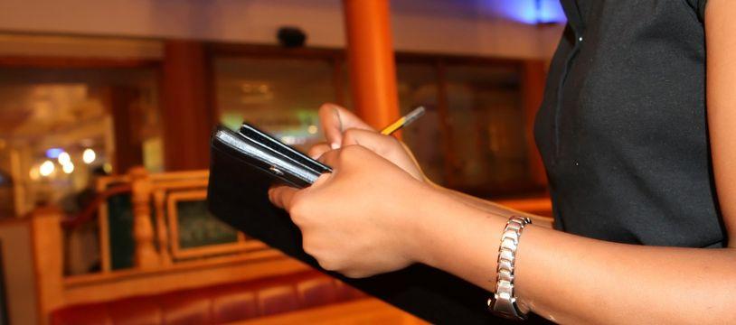 Un restaurant péruvien proposait aux femmes des cartes sans les prix.(Illustration)