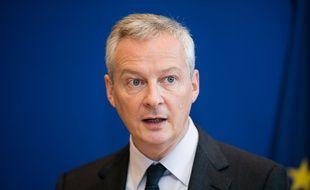 Bruno Le Maire, ministre de l'Economie et des Finances, lundi 29 octobre 2018.