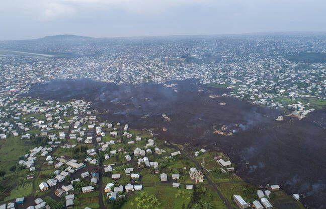 648x415 volcan nyiragongo domine goma lac kivu reveille nuit 22 23 mai
