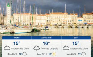 Météo La Rochelle: Prévisions du samedi 19 octobre 2019