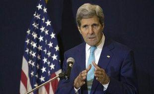 Le secrétaire d'Etat John Kerry à Sharm el-Sheikh en Egypte, le 14 mars 2015