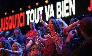 Sophia Aram animatrice de «Jusqu'ici tout va bien», sur France 2.