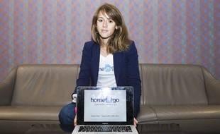 Margaux, 25 ans, jeune entrepreneure, co-fondatrice d'Home'n'Go