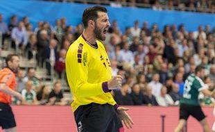 Le handballeur nantais Cyril Dumoulin