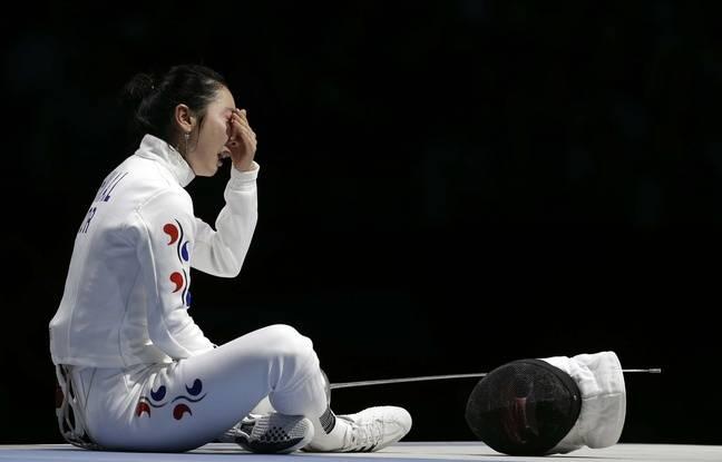 Shin Lam désespérée à Londres en 2012