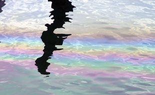 Illustration d'une pollution aux hydrocarbures.