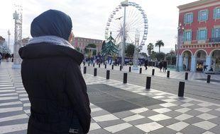 Réfugiée à Nice, Aya a vécu sous les bombardements en Syrie.