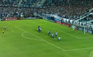 Capture d'écran du Racing en championnat d'Argentine