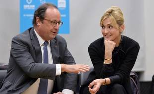 François Hollande et Julie Gayet en novembre 2019 à New York