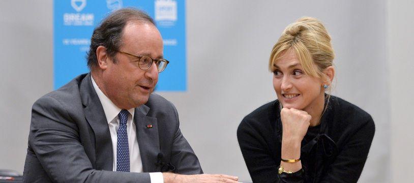 François Hollande et Julie Gayet en novembre 2019 à New York